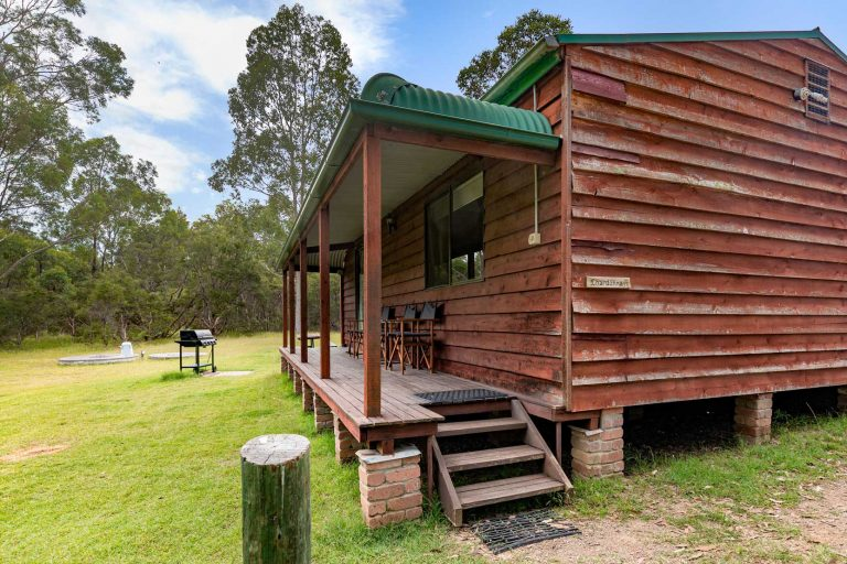 Chardonnay Cottage - BBQ, outdoor area, Bush setting | Hunter Hideaway Cottages - Hunter Valley