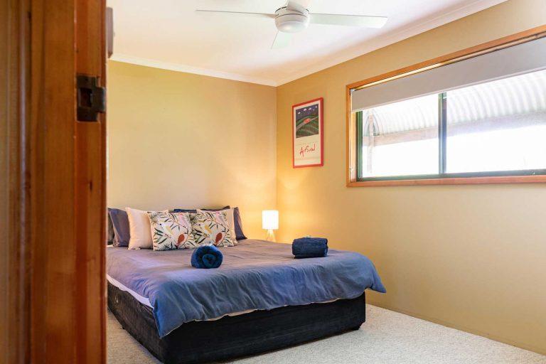 Merlot Cottage, Queen Bedroom | Hunter Hideaway Cottages- Hunter Valley