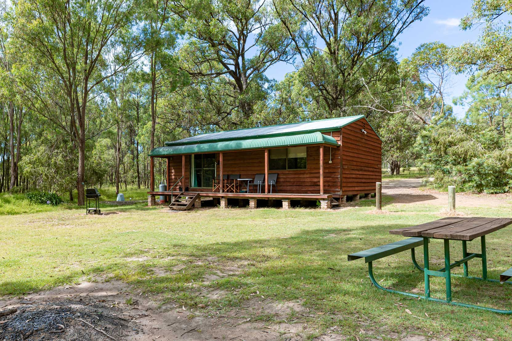 Natural bush Setting | Hunter Hideaway Cottages - Hunter Valley